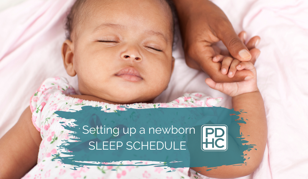 Beginning A Sleep Schedule For Your Baby