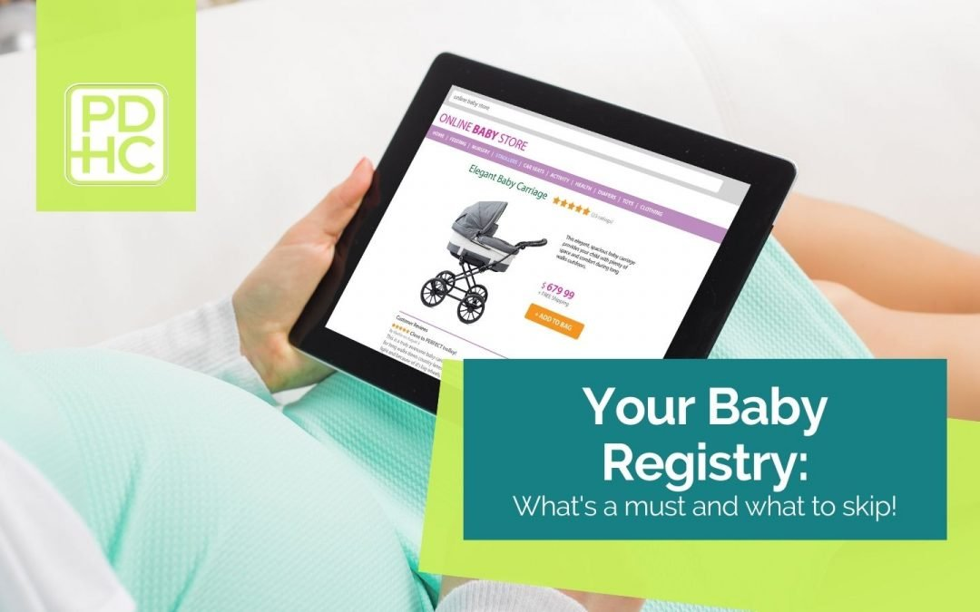 What to add and what to skip on your baby registry